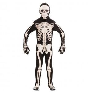 Déguisement Squelette deluxe garçon