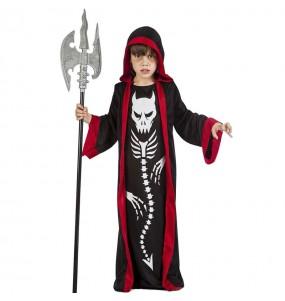 Déguisement Squelette démon garçon