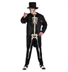 Déguisement Squelette Jour des Morts Adulte
