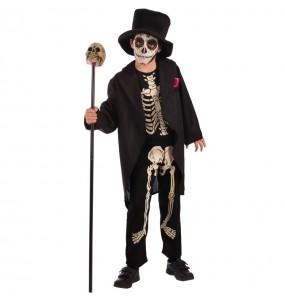 Déguisement Squelette Jour des Morts Enfant