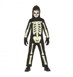 Déguisement Squelette Glow in the Dark garçon