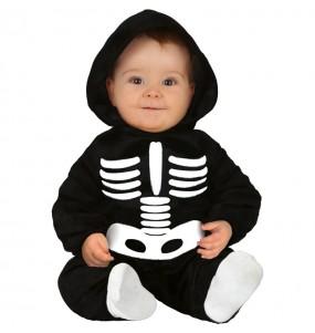 Déguisement Squelette Halloween bébé