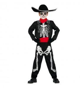 Déguisement Squelette Mexicain garçon