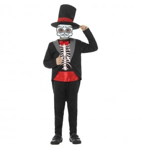 Déguisement Squelette Mexicain Catrin garçon
