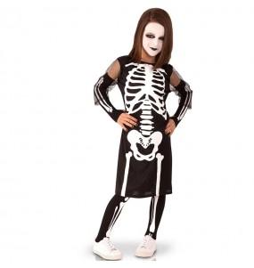 Déguisement Squelette sinistre fille
