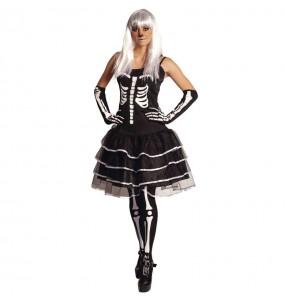 Déguisement Squelette Skelita femme