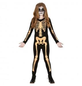 Déguisement Squelette Skull fille
