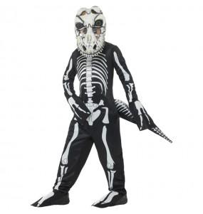 Déguisement Squelette T-Rex garçon