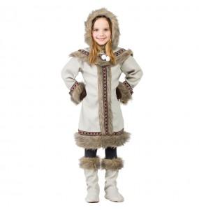 Déguisement Esquimau Sibérienne pour fille