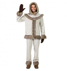 Déguisement Esquimau Sibérien pour homme