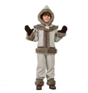 Déguisement Esquimau Sibérien pour garçon