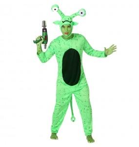 Déguisement Extraterrestre Vert adulte