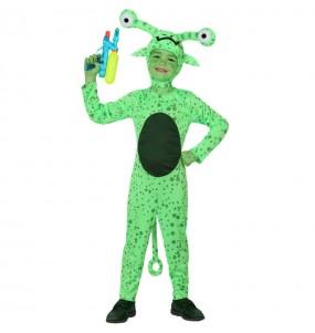 Déguisement Extraterrestre Vert enfant