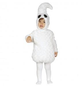 Déguisement Fantôme blanc bébé
