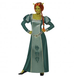 Déguisement Fiona Shrek Deluxe femme