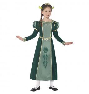 Déguisement Fiona Shrek Deluxe fille