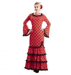 Déguisement Flamenco Rouge