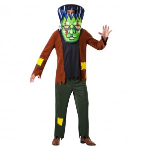 Déguisement Frankenstein Grosse Tête adulte