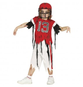 Déguisement Footballeur Américain zombie garçon