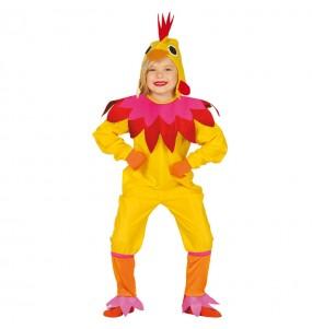 Déguisement Poule Multicolore Enfant