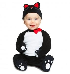 Déguisement chat noir bébé