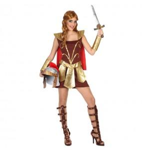 Déguisement Gladiatrice Romaine pour femme