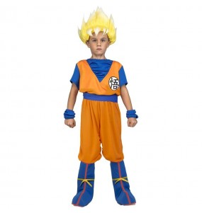 Déguisement Goku Super Saiyan Dragon Ball enfant