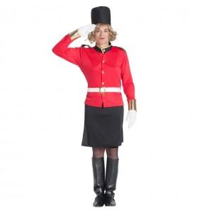 Déguisement Garde Royale Britannique homme grivois