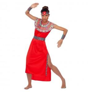 Déguisement Guerrière Tribu Maasaï femme