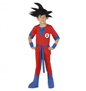 Déguisement Guerrier Goku pour enfant