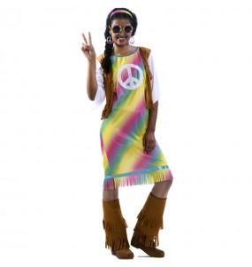 Déguisement Hippie Rainbow femme
