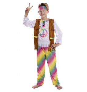 Déguisement Hippie Rainbow garçon