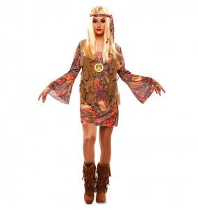 Déguisement Hippie Woodstock femme