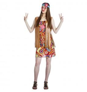 Déguisement Hippie Happy femme