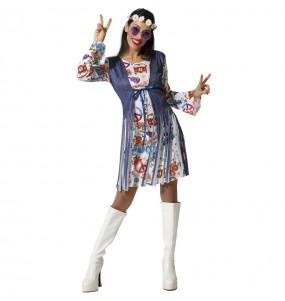 Déguisement Hippie Peace femme