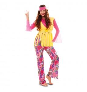 Déguisement Hippie Pacifique femme