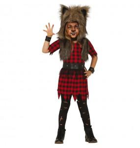 Déguisement Loup-garou fille
