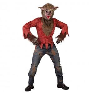 Déguisement Loup-garou sauvage homme