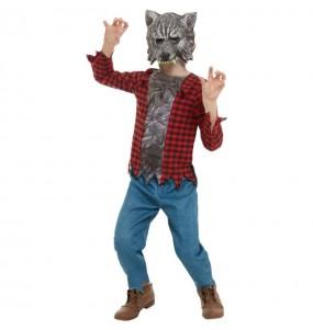 Déguisement Loup-garou sauvage garçon