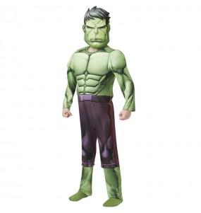 Déguisement Hulk Deluxe garçon