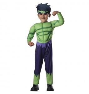 Déguisement Hulk Marvel bébé