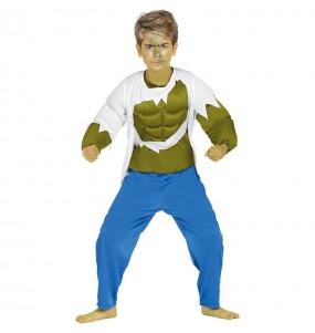 Déguisement Hulk garçon