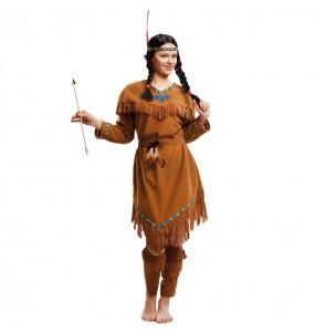 Déguisement Indienne Américaine femme