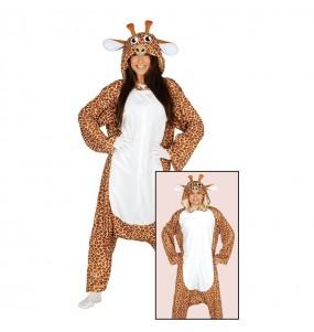 Déguisement Girafe Kigurumi Adulte