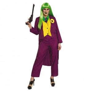 Déguisement Joker Arkham femme