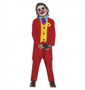 Déguisement Joker Joaquin Phoenix pour garçon