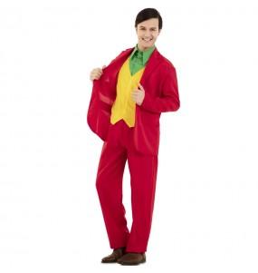 Déguisement Joker rouge homme