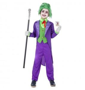 Déguisement Joker Super-vilain garçon