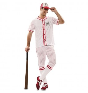 Déguisement Joueur baseball rétro homme