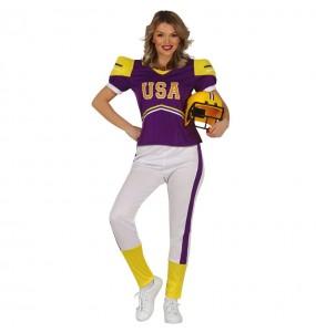 Déguisement Footballeuse américaine femme